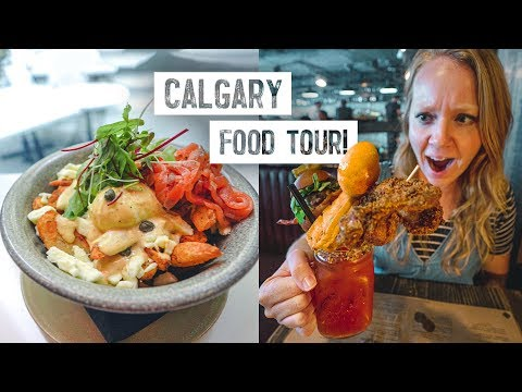 3 Dishes You HAVE To Try In Calgary, Canada! - Canada's National Cocktail, Poutine & MORE!