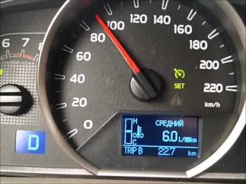 Toyota Rav4 4wd CVT Расход Топлива
