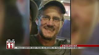 Body found near river identified as missing 49-year-old Wahpeton man