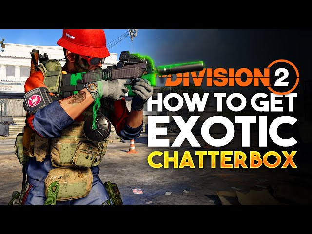 The Division 2 Exotic Chatterbox P90 Location!