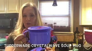 tupperware soup mugs crystalwave microwaveable