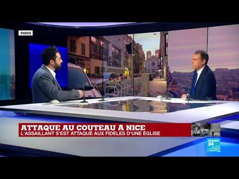 Attaque au couteau à Nice : que sait-on du profil de l'assaillant ?