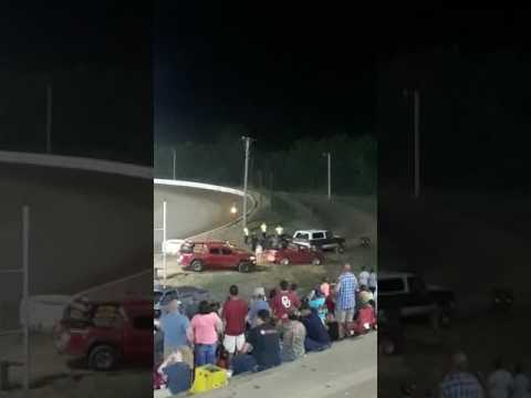The fight at thunderbird speedway