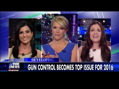 Gun Control Becomes Top Issue of 2016 - Dana Loesch vs. Nomiki Konst