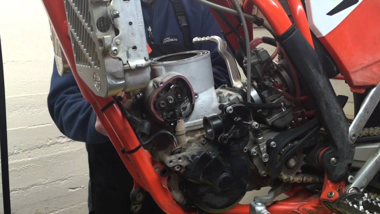 how to do a ktm 250/300 top end rebuild - youtube