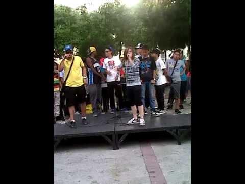 Freestyle en La Plaza Bolivar De Maracay