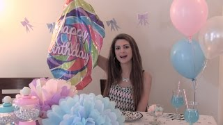 Diy Party Decor & Treats - Photo Booth, Tissue Paper Pom Poms, Bow Garland, Yogurt Bark & More!