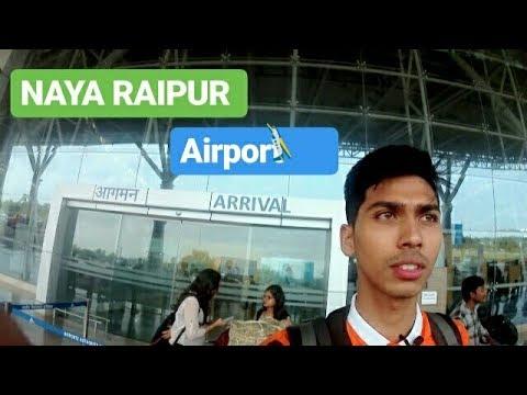 ARRIVAL: Delhi to Raipur | Swami Vivekananda Airport New Raipur |