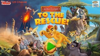 The Lion Guard To The Rescue Rescuing Animals In The Pride Lands(Disney Junior) | Kids TV123 Channel
