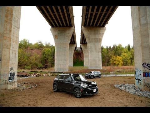 2013 Range Rover Evoque Coupe vs 2013 MINI Paceman Cooper S Comparison