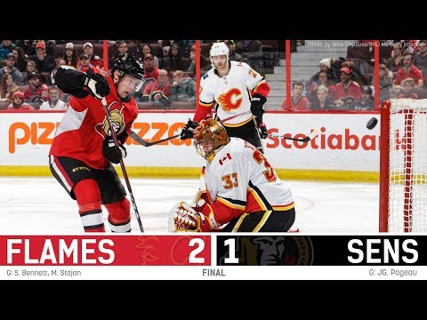 Sens vs. Flames - Players Post-game