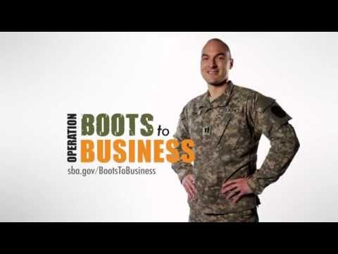 Boots to Business: Tony Turin (15-sec)