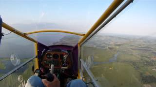 CGS Hawk flight to, and over Winneconne, WI