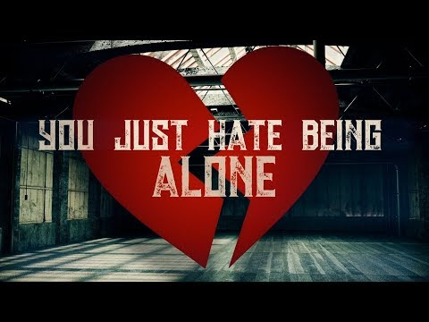 Cryptic Wisdom - Hate Being Alone (Lyric Video) [Prod. Life & Death Productions]