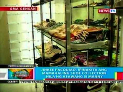 BP: Jinkee Pacquiao, ipinakita ang mamahaling shoe collection nila ng asawang si Manny