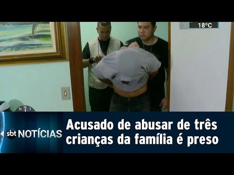 Mulher teria acobertado estupro das próprias filhas cometido pelo irmão | SBT Notícias (11/08/18)