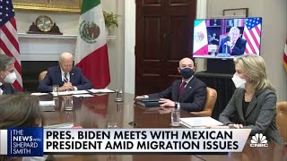 President Joe Biden tries to break from Trump immigration policy