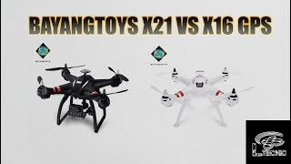 Bayangtoys X21 VS Bayangtoys X16, la verdad que una difícil decisió...