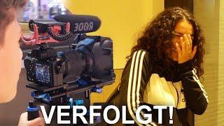 Leute mit KAMERA VERFOLGEN in der Stadt... - Daily Vlog 18