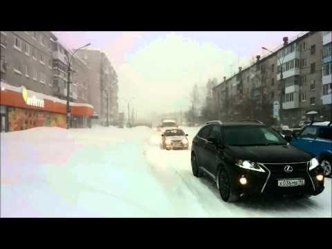 Снегопад в Серове, Краснотурьинске 24.10.2014 / Snowfall in the Sverdlovsk region