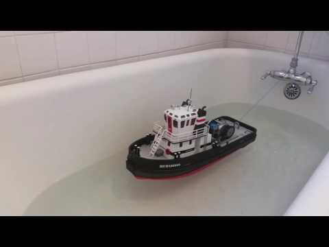 Richardson Tugboat Deck Winch Bathtub Test