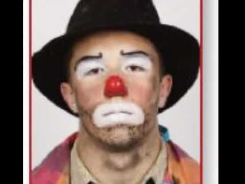 Funny Clown Face Paint
