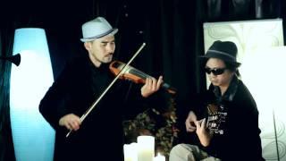 Chiec la thu phai Nguyen duc dat Guitarist va Luan Vu violinist