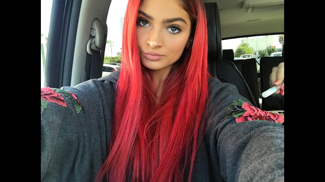 Dying My Hair Red