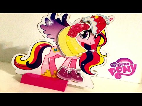 ماي ليتل بوني لعبة تلبيس  - ألعاب بنات - الأميرة كيدنس MY little pony Magnet Dress doll