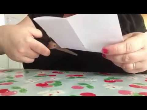 how to make a simple book out of a sheet of a4 paper youtube. Black Bedroom Furniture Sets. Home Design Ideas