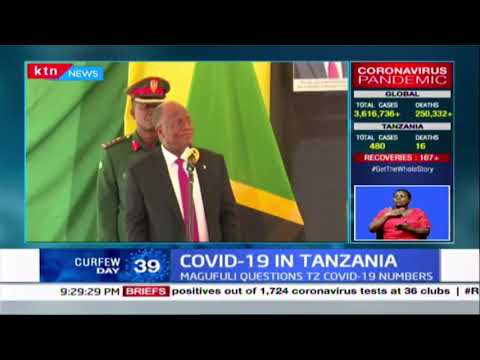 President Magufuli questions Tanzania's COVID-19 numbers citing sabotage by Lab officers