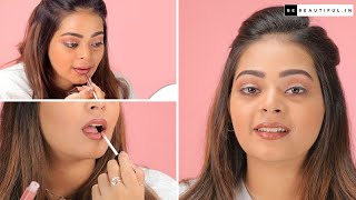 How To Make Your Lips Look Bigger | Lipstick Hacks For Fuller Lips | Lipstick Tutorial| Be Beautiful
