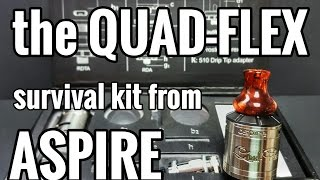 The QUADFLEX SURVIVAL KIT - You should probably buy one (in case of zombie attack?)