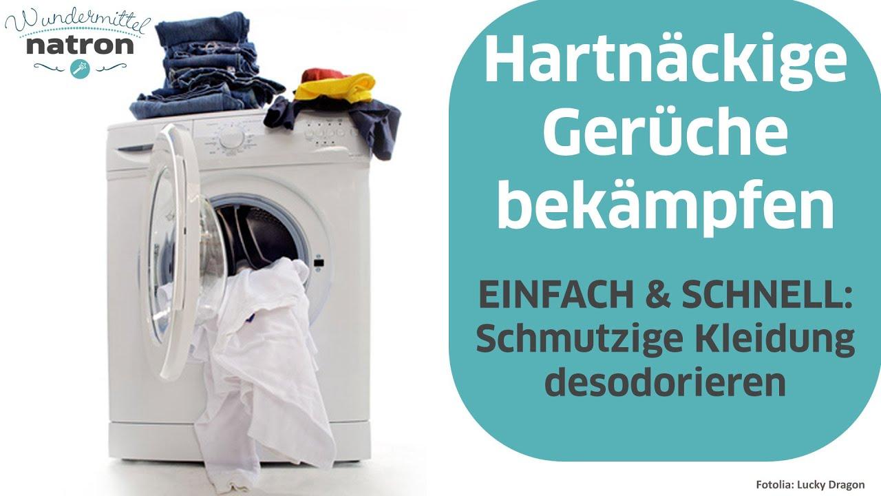 Wäsche stinkt – Was tun? - YouTube