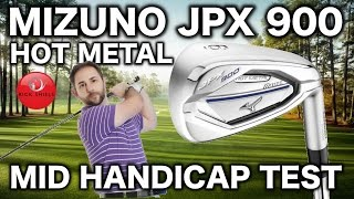 MIZUNO JPX900 HOT METAL IRONS REVIEWED BY MID HANDICAPPER