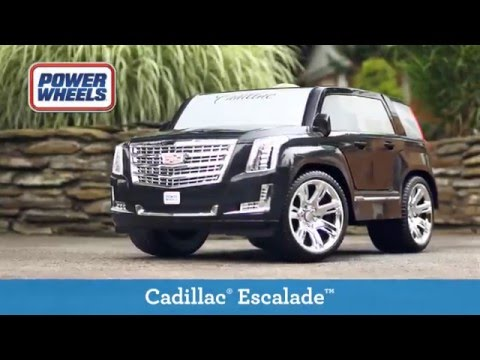 Power Wheels Cadillac Escalade >> Fisher Price Power Wheels Cadillac Escalade Ride On English Toys R Us Canada