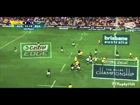 Wallabies vs Springboks Rugby Championship 2013 HIGHLIGHTS)