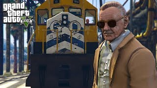 STAN LEE (Nuff Said) - GTA 5 Mods