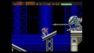 Sega Genesis Strider Full Play Through