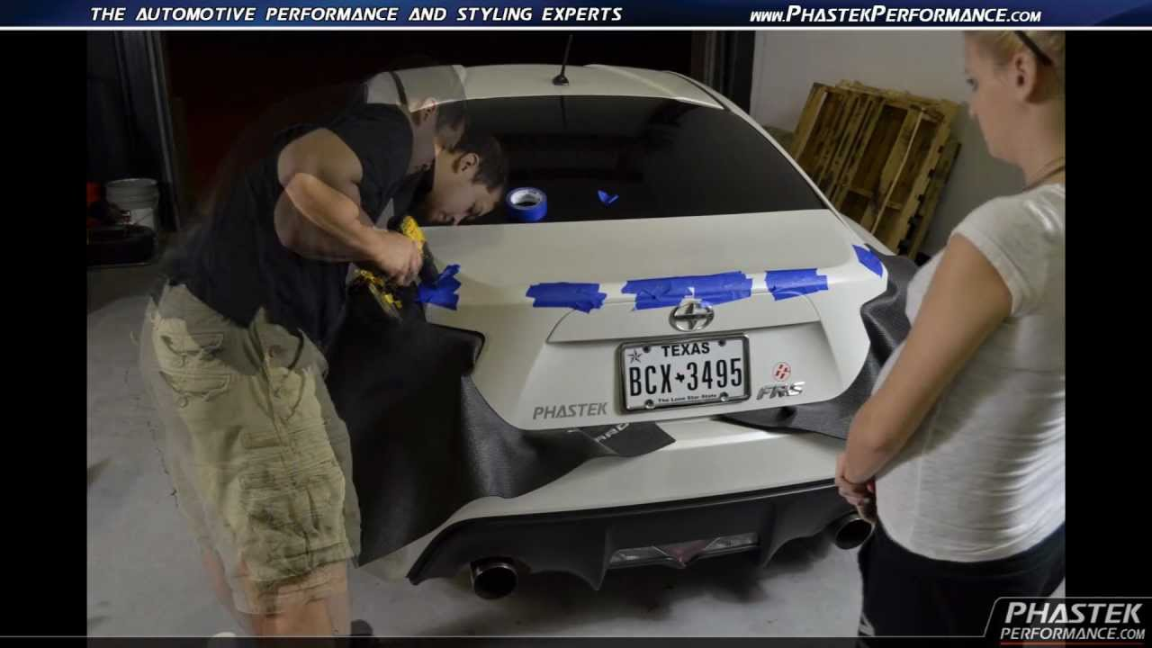 Phastekperformance Com Scion Fr S Oem Spoiler Install