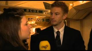 Filip Berg om nervositeten på Guldbaggegalan:
