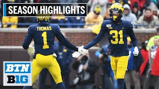 2019 Season Highlights: Michigan Takes on Alabama in Citrus Bowl | B1G Football