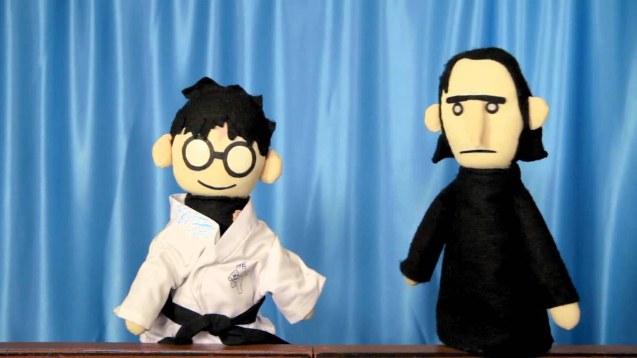 Potter Puppet Pals Short: Martial Arts - YouTube