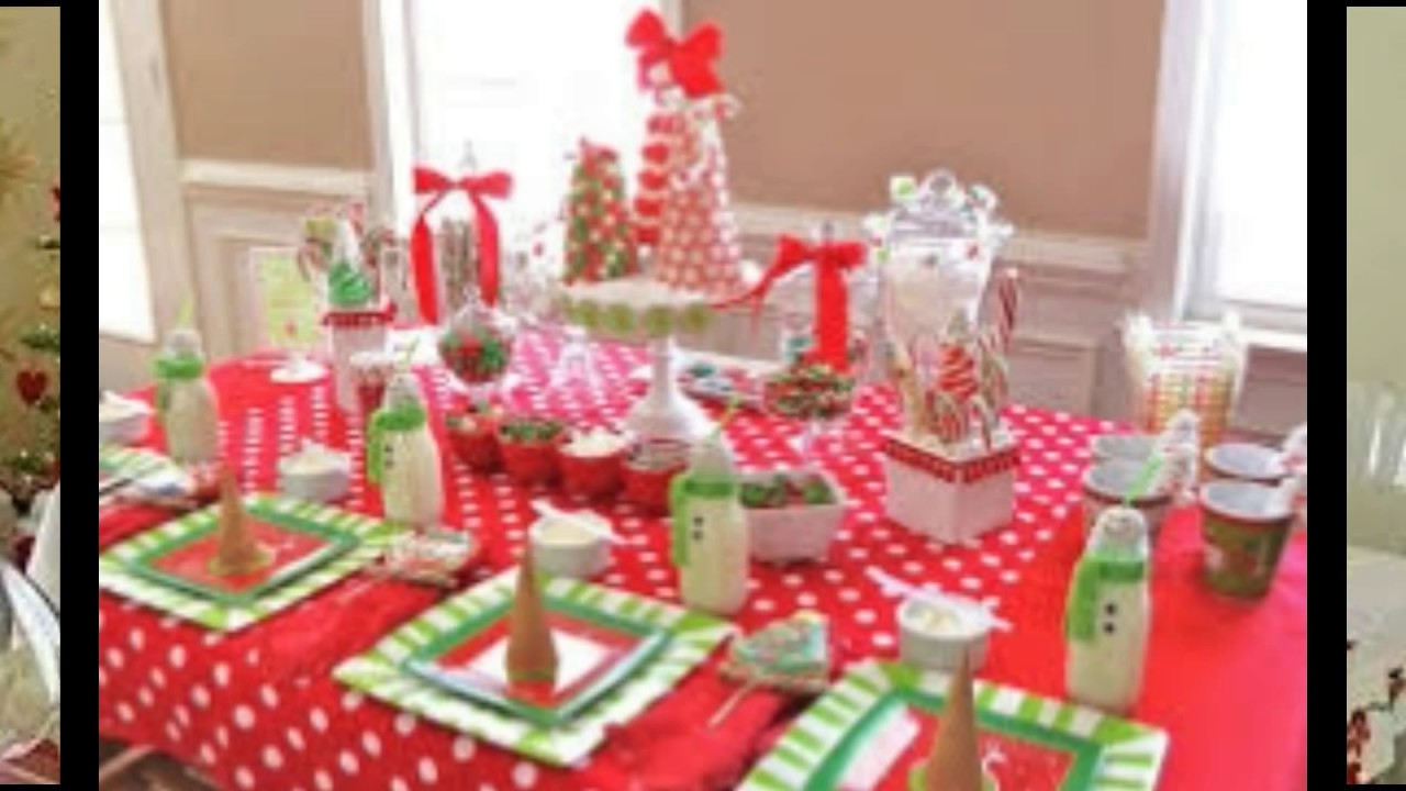 Decorar La Mesa Para La Cena De Navidad.Ideas Para Decorar La Mesa Cena Navidena Youtube