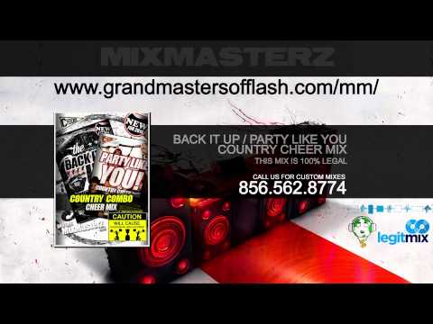 Country Cheer Music Mix  Back It Up  Party Like You