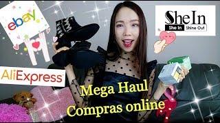 Mega Haul/ Compras ONLINE/ SHEIN, ALIEXPRESS, EBAY + SALUDOS