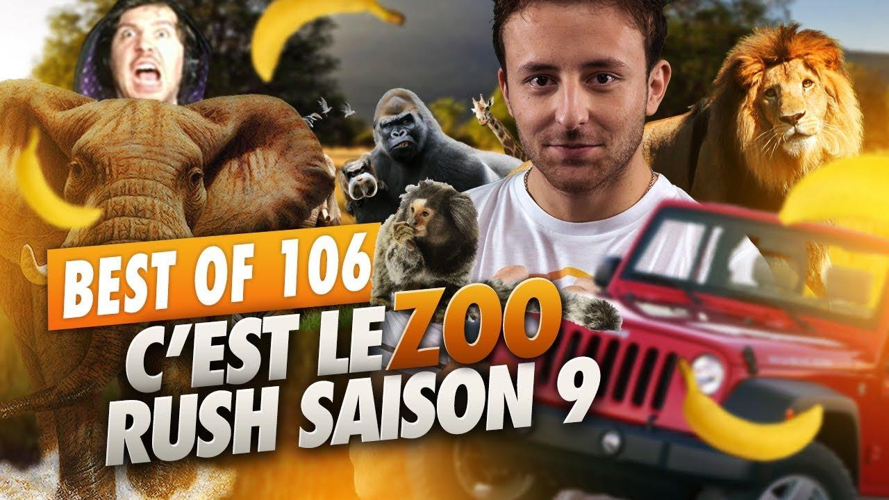 BEST OF SOLARY #106 ► C'EST LE ZOO  - RUSH SAISON 9