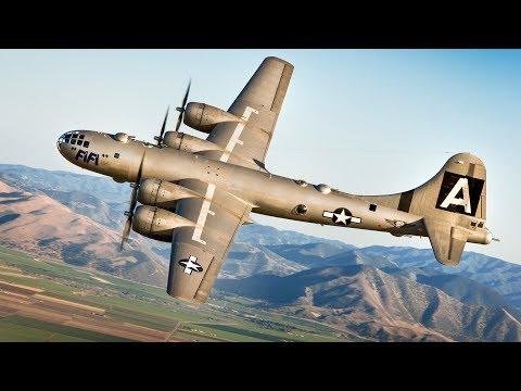 I bombardieri strategici americani. Documentario.