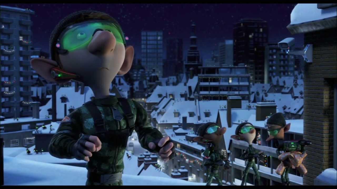 Arthur Christmas Elves.Arthur Christmas Elf Delivery Movie Clip Official 2011 Hd