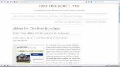 Alabama First Time Home Buyer Grants